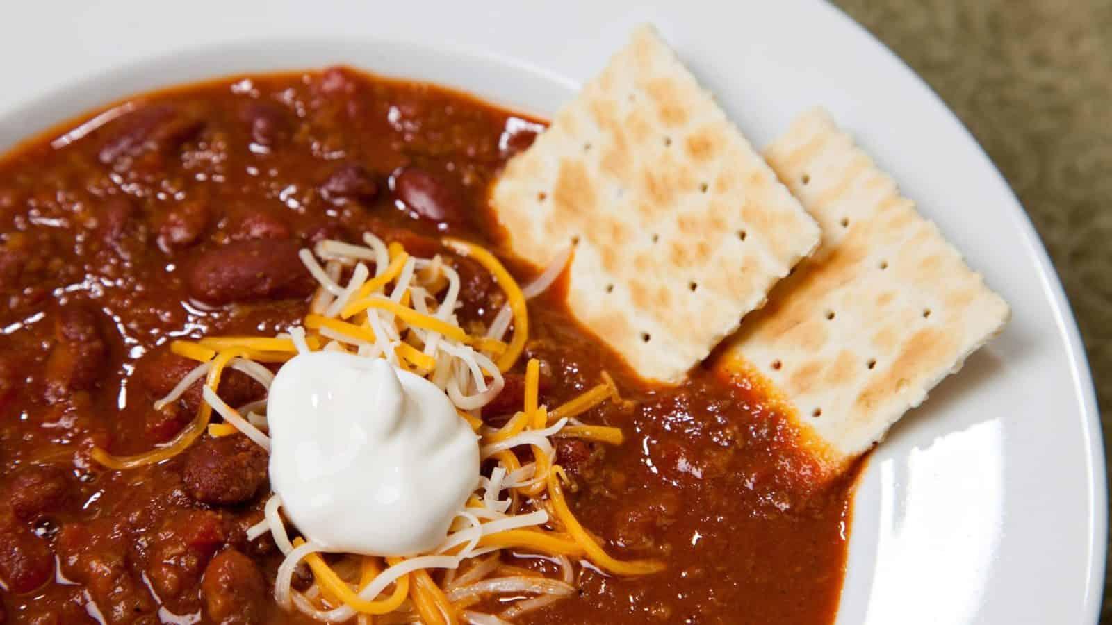 Custard Stand Chili Soup
