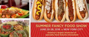 Summer Fancy Food Show header