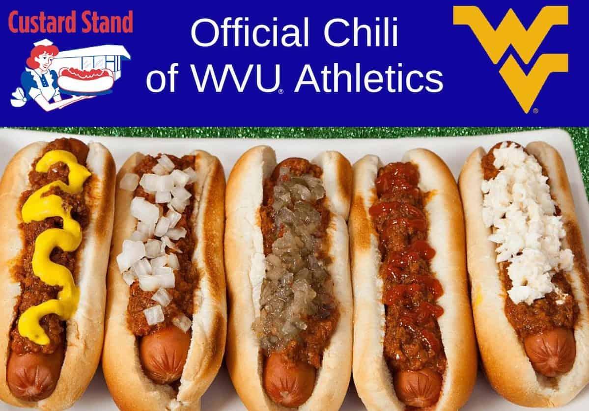 Custard Stand Chili Official Chili of WVU Athletics