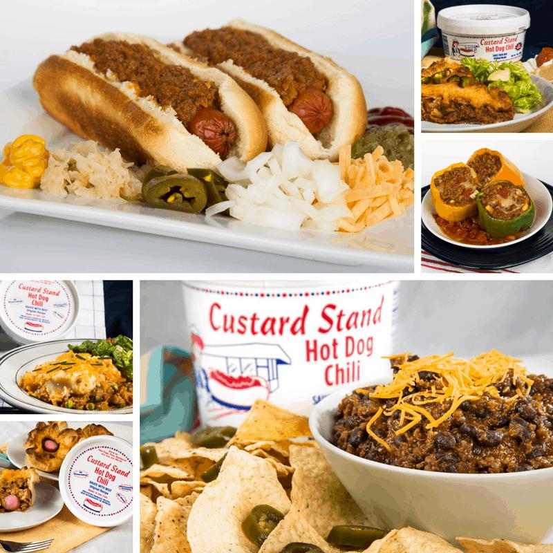 Custard Stand Hot Dog Chili #ChiliYourMeal