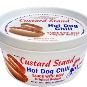Custard Stand Hot Dog Chili